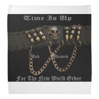 Time is Up For The New World Order -BANDANA Bandana