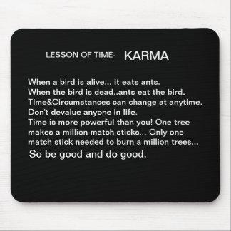 Time&Karma Mouse pad