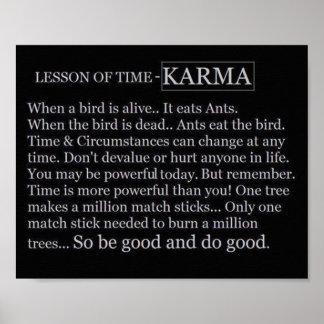 Time&Karma Poster