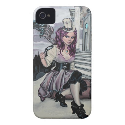 time keeps ticking steampunk faery blackberry blackberry cases