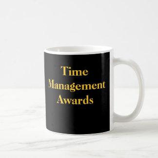 Time Management Awards Funny Spoof Office Prize Mug