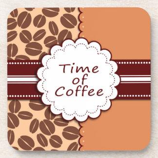 Time of coffee coaster