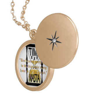 """Time of My Life KEEPSAKE"" Locket Necklace"
