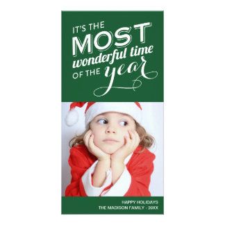 TIME OF THE YEAR HOLIDAY PHOTO CARD