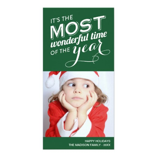 TIME OF THE YEAR | HOLIDAY PHOTO CARD