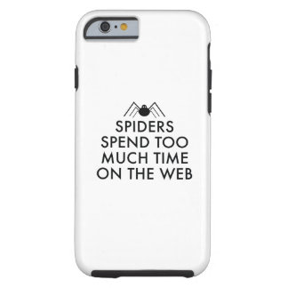 Time On The Web Tough iPhone 6 Case