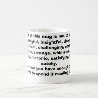 Time on your hands magic mug
