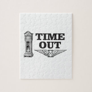 time out clock jigsaw puzzle