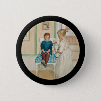 Time Out in the Corner 6 Cm Round Badge