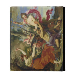 Time Overcome by Youth and Beauty iPad Folio Cases