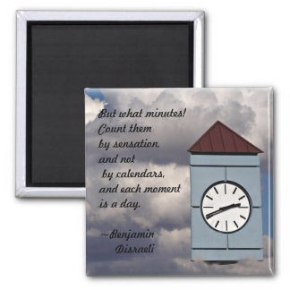 Time Passages Square Magnet