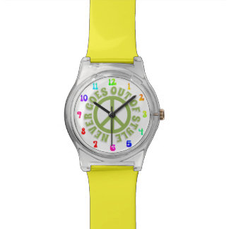 TIME PEACE COOL GROOVY WATCHES