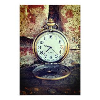 Time - Photo print