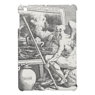 Time smoking a picture by William Hogarth iPad Mini Covers