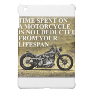 Time Spent On A Motorcycle iPad Mini Case