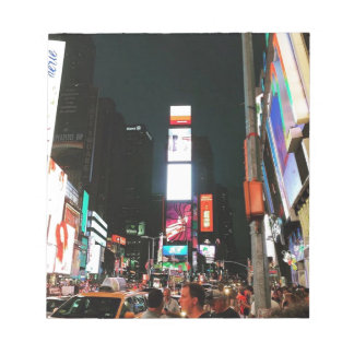 Time Square, NYC Notepad
