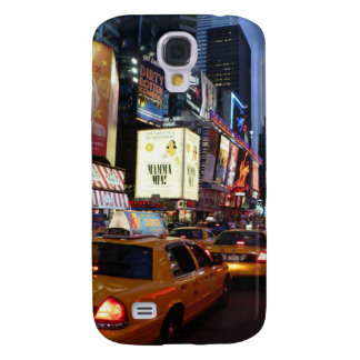 Time Square Taxis Galaxy S4 Cases