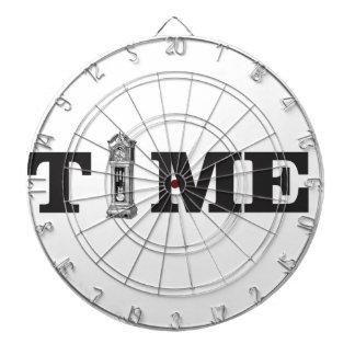 time tells dart board