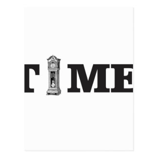 time tells postcard