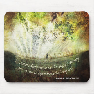 """Time - """"The Edge of Eternity"""" Mouse Pad"""