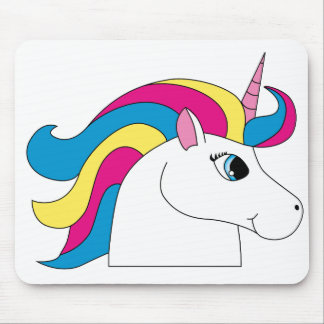 Time to be a Unicorn Mouse Pad
