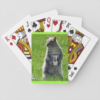 Time to be Squirrely Playing Cards