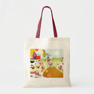 Time to Count - Farmyard Tote Bag