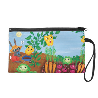 Time To Count-Garden Wristlet