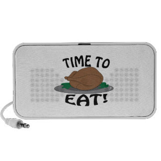 Time to Eat iPhone Speaker