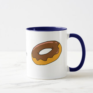 Time to eat the donuts mug