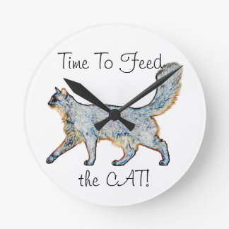 Time to feed the CAT Wallclocks