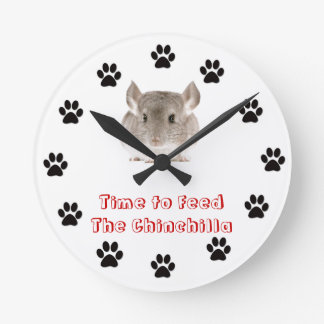 Time to feed the Chinchilla Clocks
