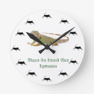 Time to feed the Iguana Clock
