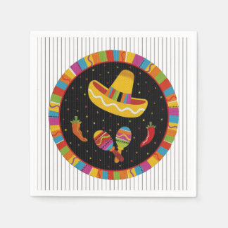 Time To Fiesta HHM Party Paper Napkins