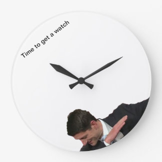 Time to get a watch large clock