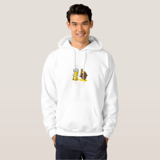Time To Get Basted Turkey Thanksgiving Funny Hoodie