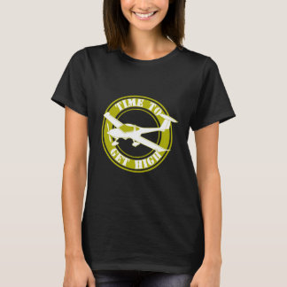 Time to Get High Aviation T-Shirt