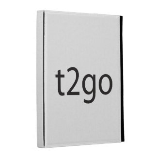 Time to Go.ai iPad Folio Covers