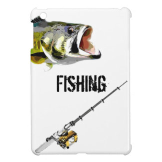 Time To Go Fishing iPad Mini Cases
