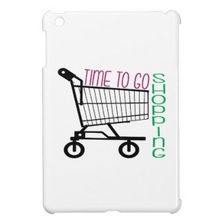 Time To Go Shopping Cover For The iPad Mini