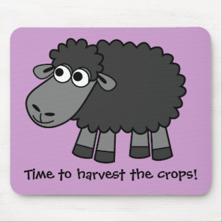 Time to harvest the crops Virtual Farming Mousepad