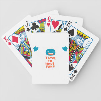 Time to have Fun Bicycle Playing Cards