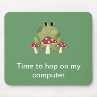 Time to hop on my computer Mousepad