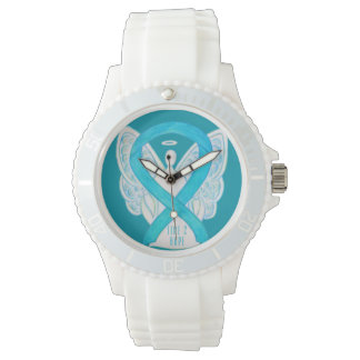 Time to Hope Turquoise Awareness Ribbon Watch