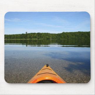Time to kayak mousepad