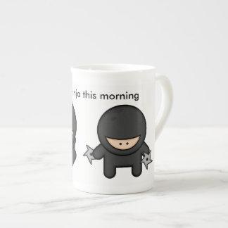 Time to ninja this morning tea cup