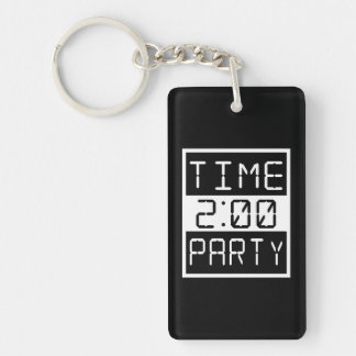 Time to Party Key Ring