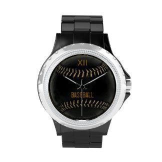 time to play baseball wristwatch