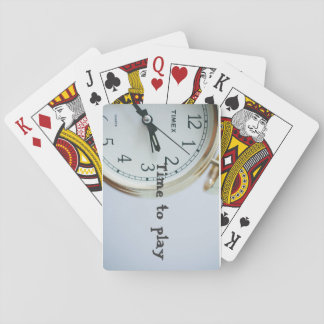 Time to play cards card decks