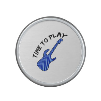 Time To Play Electric Guitar - Custom Background Bluetooth Speaker